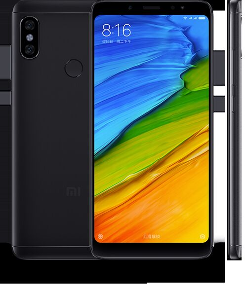 Смартфон Xiaomi Redmi Note 5 AI Dual Camera 128GB/6GB (Black/Черный)
