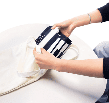 Xiaomi Vvave Sound Floating Hand Roll Electronic Piano Big (White)