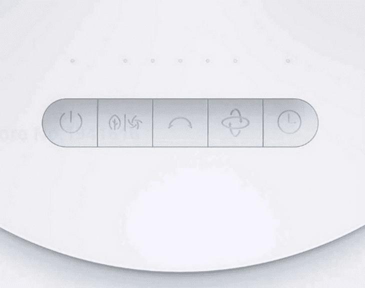 Управление вентилятором Xiaomi Mijia DC Frequency Conversion Circulating Fan ZLXHS01ZM