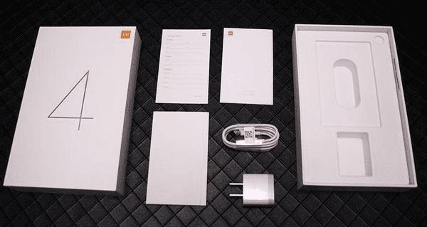 Комплектация планшета Xiaomi Mi Pad 4