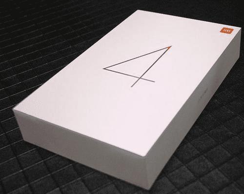 Дизайн упаковки для планшета Xiaomi Mi Pad 4