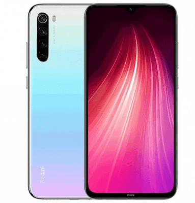 Смартфон Xiaomi Redmi Note 8T 64GB/4GB (White/Белый)