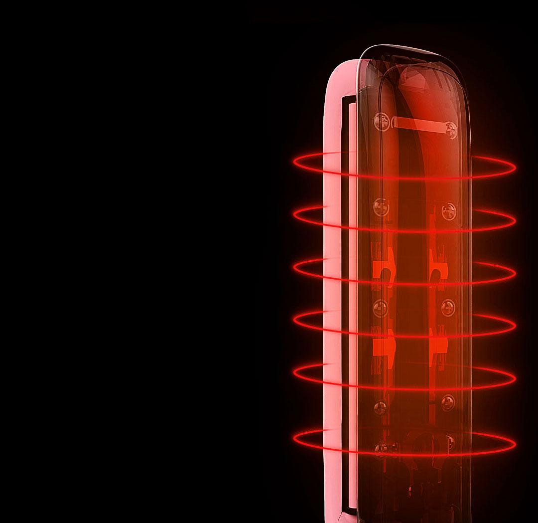 Xiaomi Yueli Hot Steam Straightener 3 - Щипцы Xiaomi Yueli Hot Steam Straightener (HS-521) Pink