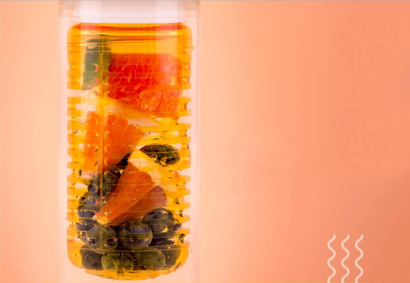 Термос Xiaomi 535 мл - фруктовыв напиток, компот, холодный чай