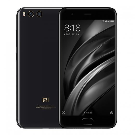 Смартфон Xiaomi Mi6 Ceramic 128GB/6GB Exclusive Version (Black/Gold)(Черный/Золотой)