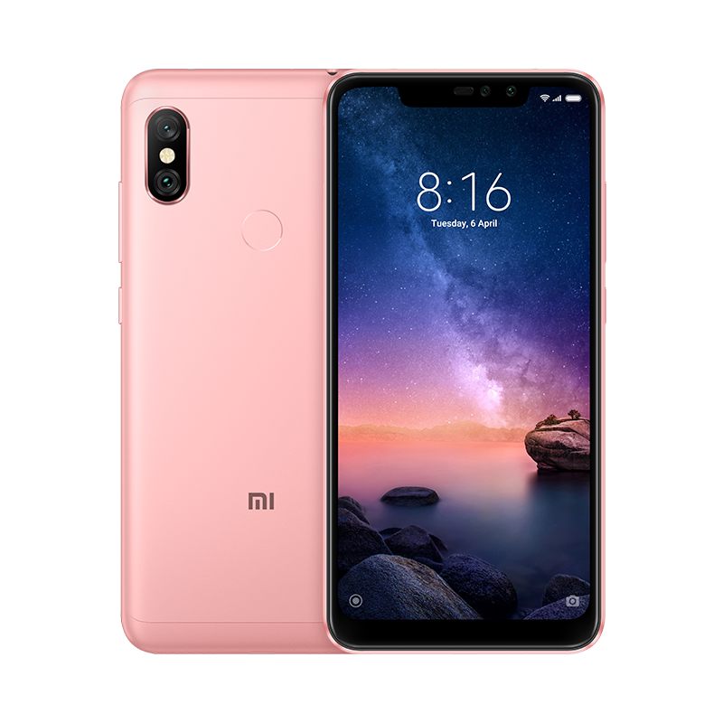 Смартфон Xiaomi Redmi Note 6 Pro 64GB/4GB (Rose Gold/Розовый)