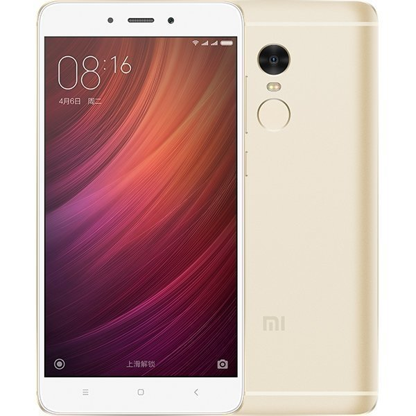 Смартфон Xiaomi Redmi Note 4 64GB/3GB (Gold/Золотой)