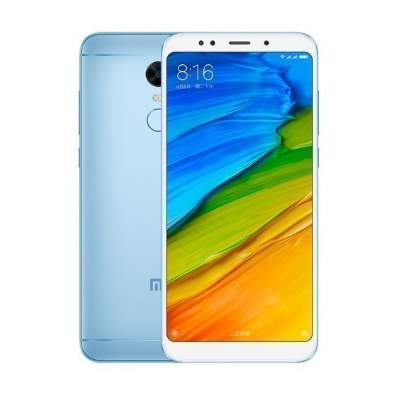Смартфон Xiaomi Redmi 5 Plus 64GB/4GB (Blue/Голубой)