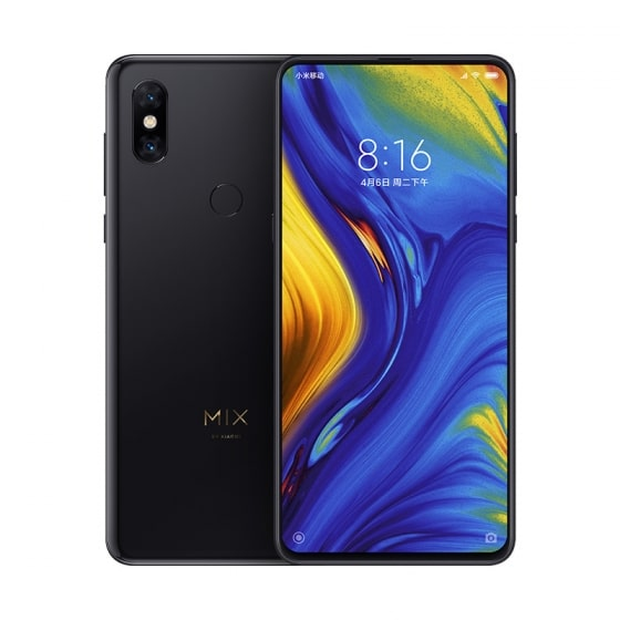 Смартфон Xiaomi Mi Mix 3 128GB/6GB (Black/Черный)