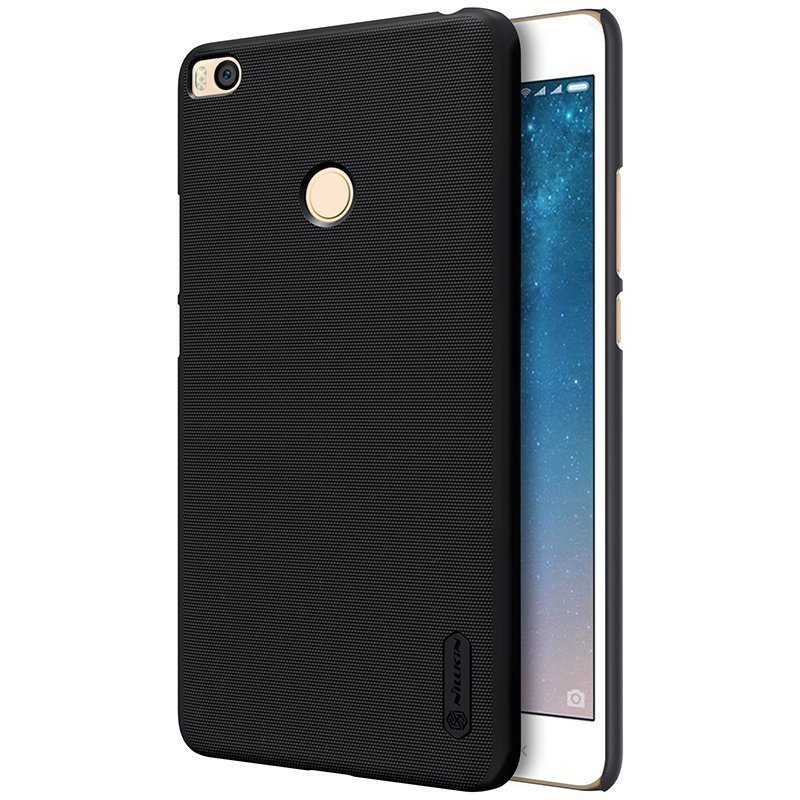 Чехол для Xiaomi Mi Max 2 Nillkin Super Frosted Shield (Black/Черный)