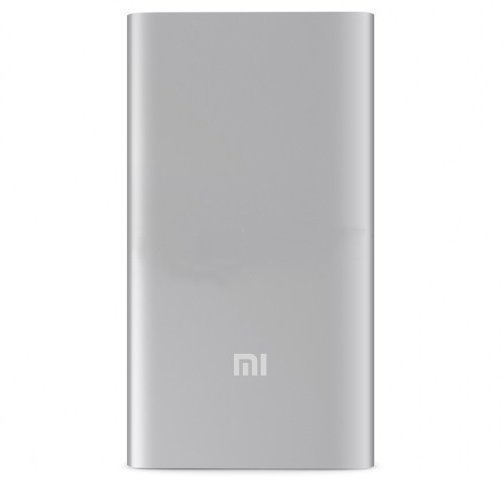 Xiaomi Mi Power Bank Slim 5000 mAh (Silver)