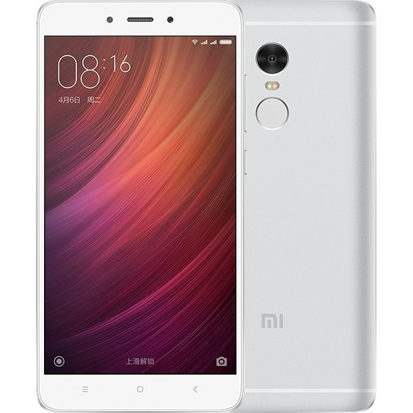 Смартфон Xiaomi Redmi Note 4 16GB/2GB (Silver/Серебристый)