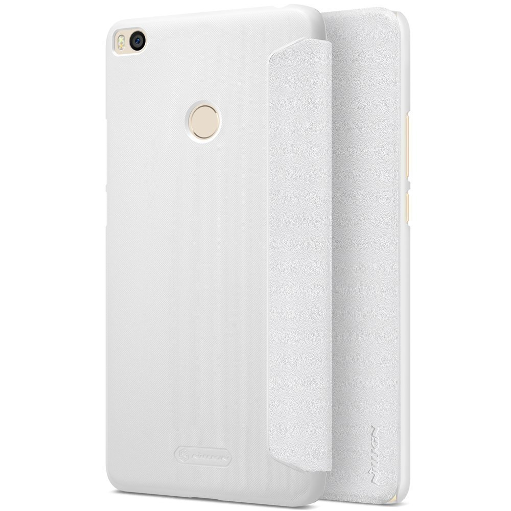 Чехол для Xiaomi Mi Max 2 Nillkin Sparkle Leather Case (White/Белый)