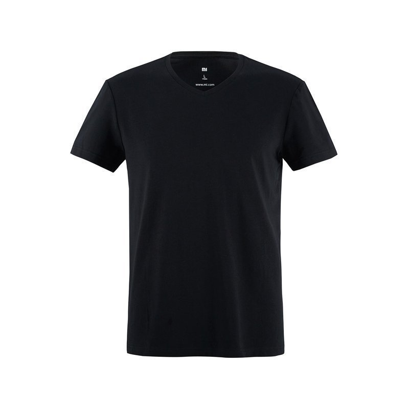 Футболка Xiaomi Short Sleeves (Black/Черный)