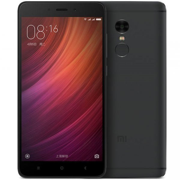 Смартфон Xiaomi Redmi Note 4 64GB/3GB (Black/Черный)