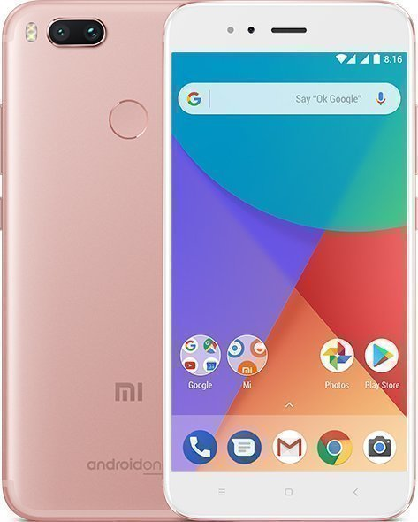 Смартфон Xiaomi Mi A1 64GB/4GB (Rose Gold/Розовый)