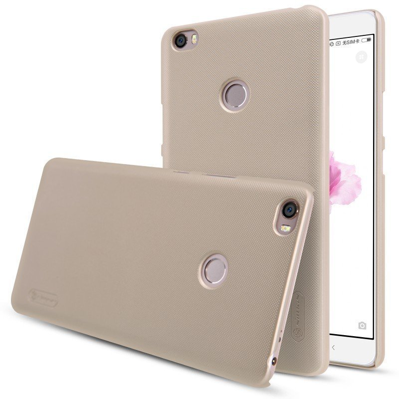 Чехол для Xiaomi Mi Max Nillkin Super Frosted Shield Gold (Золотой)