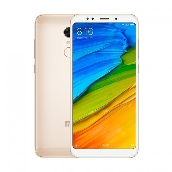 Смартфон Xiaomi Redmi 5 Plus 64GB/4GB (Gold/Золотой)