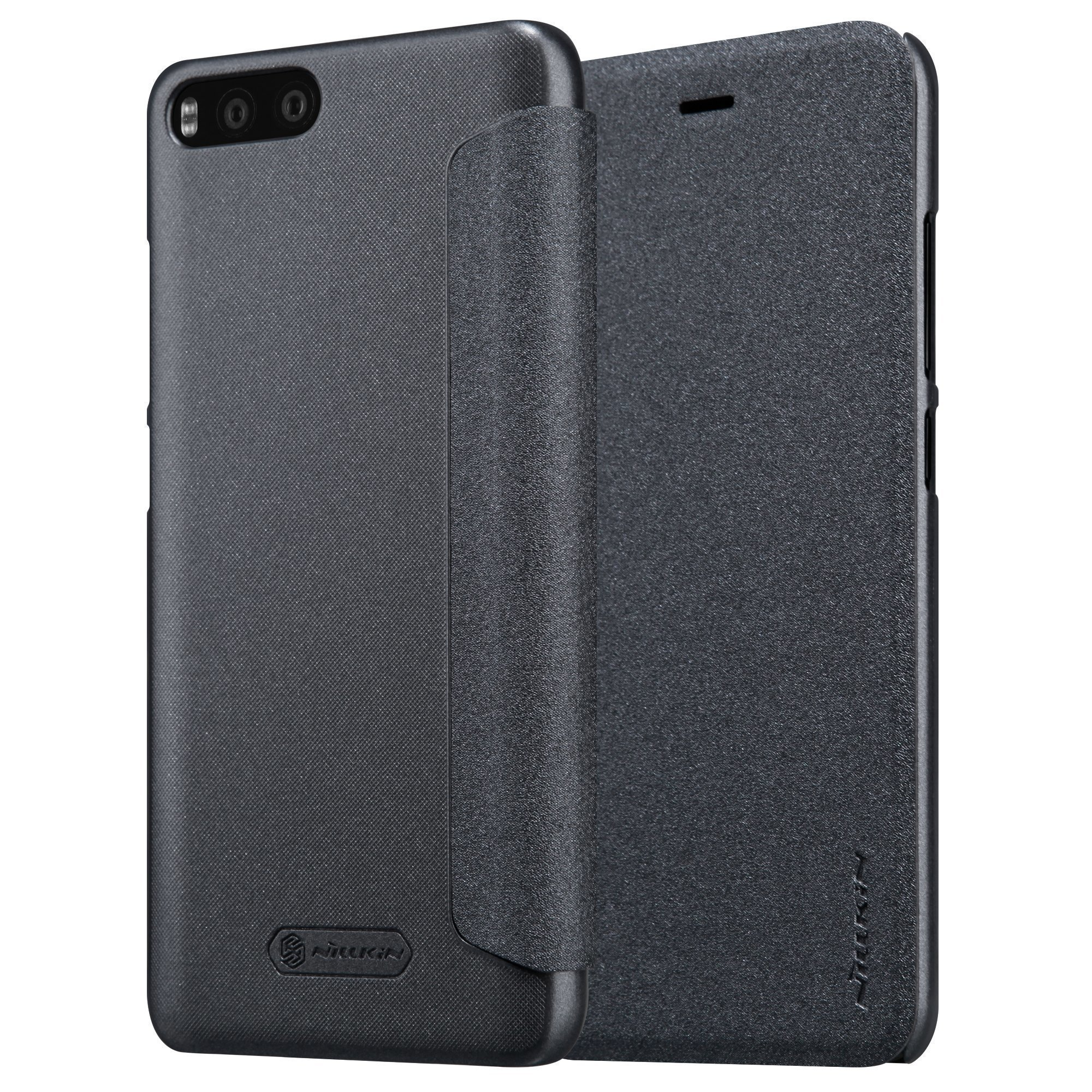 Чехол для Xiaomi Mi6 Nillkin Sparkle Leather Case (Black/Черный)