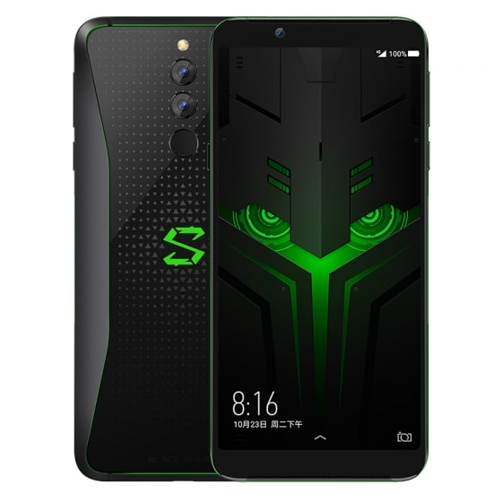 Смартфон Xiaomi Black Shark Helo 256GB/10GB (Black/Черный)