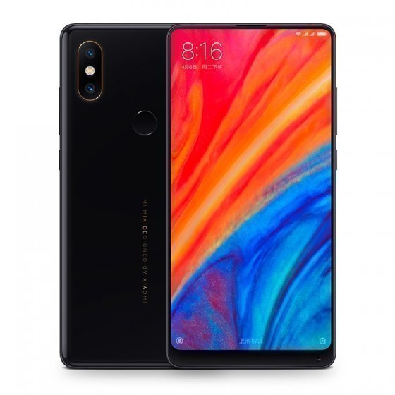 Смартфон Xiaomi Mi MIX 2S 128GB/6GB (Black/Черный)