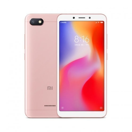 Смартфон Xiaomi Redmi 6A 32GB/3GB (Rose Gold/Розовый)