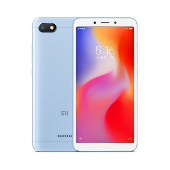 Смартфон Xiaomi Redmi 6A 32GB/2GB (Blue/Голубой)