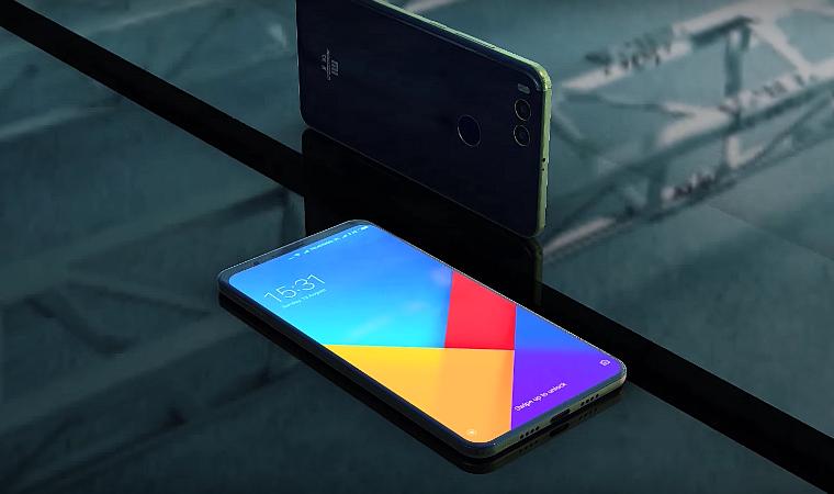 Рендер Xiaomi Mi7