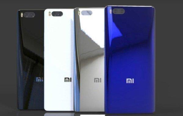 Варианты расцветок Xiaomi Mi 7