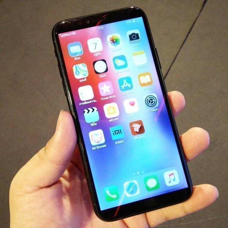 Гибрид смартфонов iPhone X и Xiaomi Mi6