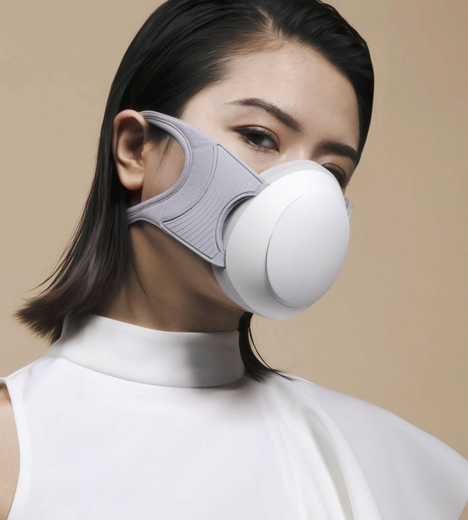 Новая маска для лица Сяоми в белом цвете