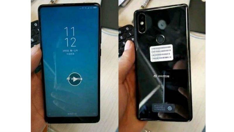 Еще один фейк Xiaomi Mi MIX 2S