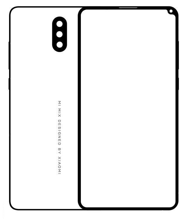 Графическое изображение Xiaomi Mi Mix 2S