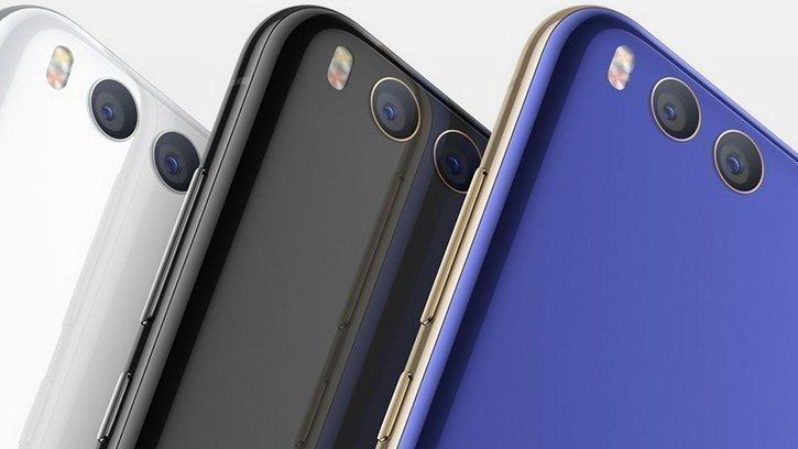 Цветовые варианты Xiaomi Mi7