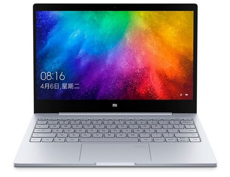 Дизайн ноутбука Xiaomi Mi Notebook Air 13.3 Fingerprint 2017