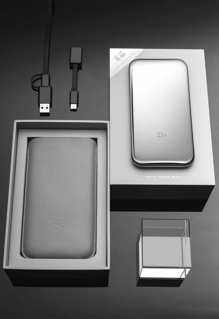 Что входит в комплект с новый внешним аккумулятором Сяоми