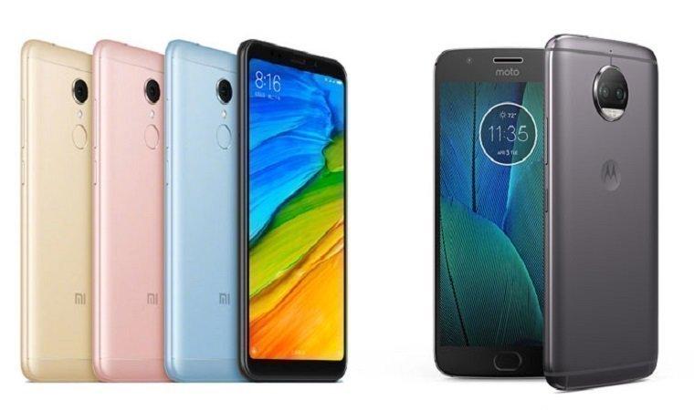 Xiaomi Redmi 5 Plus vs Motorola Moto G5s Plus