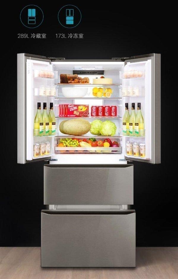 Новый холодильник Сяоми: вид изнутри