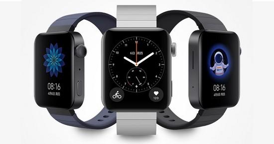 Внешний вид умных часов Xiaomi Mi Watch