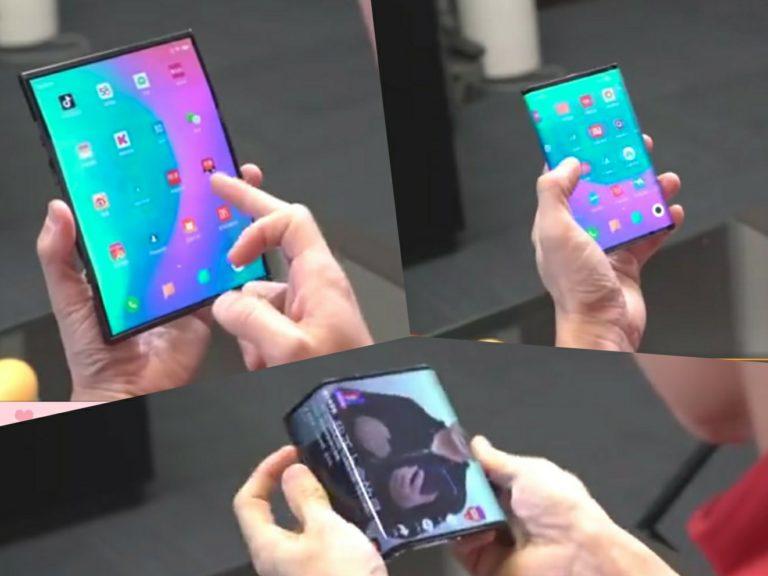 Рабочий прототип складного смартфона Xiaomi