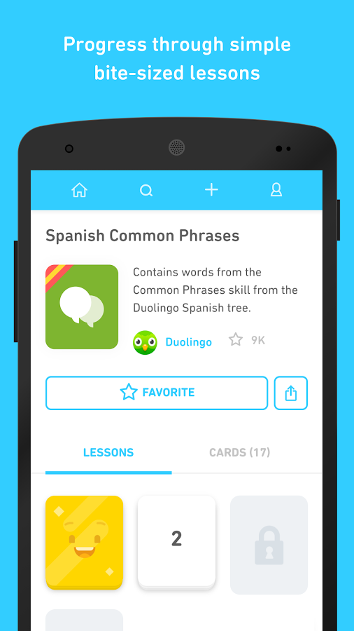 Скриншот Tinycards by Duolingo