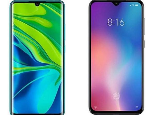 Сравнение дисплейных модулей телефонов Сяоми Ми Ноут 10 и Ми 9