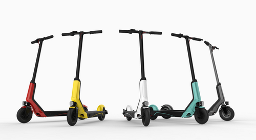 Варианты цветового решения электросамоката Сяоми QiCycle EUNi Electric Scooter