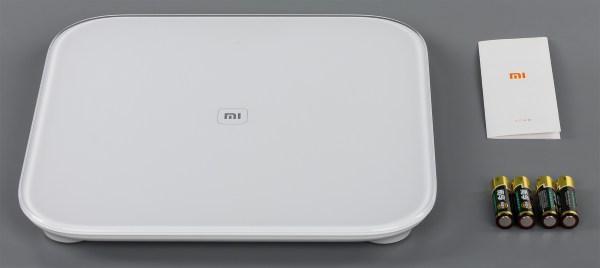 Комплектация умных весов Xiaomi Mi Smart Scale