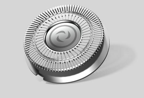 Внешний вид бреющей головки бритвы Xiaomi