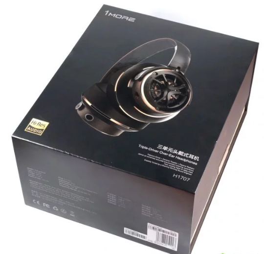 Наушники 1More Triple Driver Over Ear Headphones H1707 в коробке