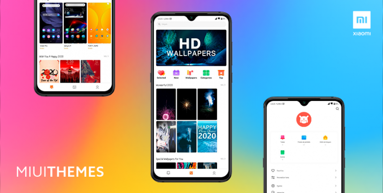 Фирменное приложение Xiaomi MIUI Themes