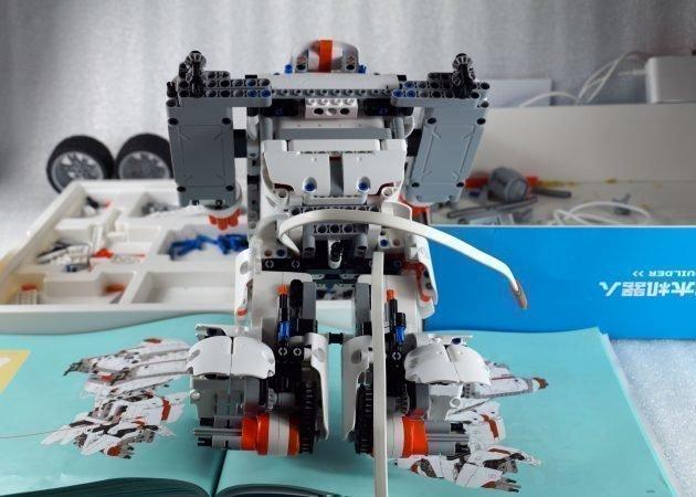 Как выглядит собранный робот