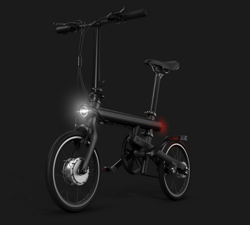 Пример работы фары на электровелосипеде Xiaomi Mijia QiCycle
