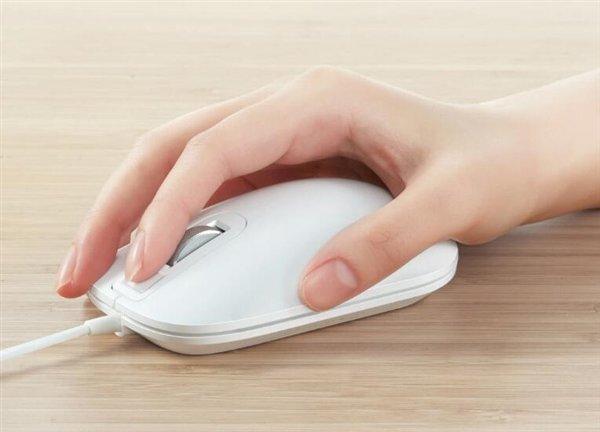 Компьютерная мышка Xiaomi Jesis Smart Fingerprint Mouse получила сканер отпечатков пальцев